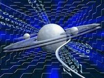 虚拟的服务器 免版税库存照片