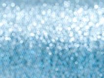 虚拟背景蓝色重点闪烁 免版税库存图片