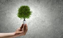 虚拟能源例证好的节省额 免版税库存照片