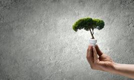 虚拟能源例证好的节省额 免版税库存图片