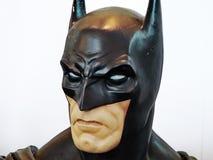 虚构人物超级英雄蝙蝠侠,泰国可笑的骗局2014年 免版税库存照片