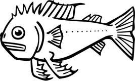虚构的鱼 库存例证