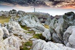 虚幻的岩石海岸线 免版税图库摄影
