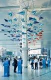 虹桥机场内部,上海,中国 库存照片