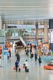 虹桥机场内部,上海,中国 免版税图库摄影