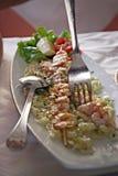 虾串 免版税图库摄影