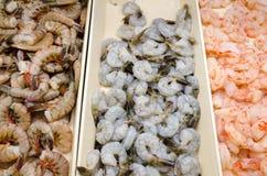 虾在温哥华 免版税库存图片