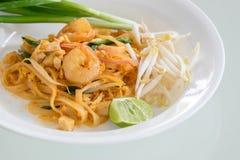 虾填塞泰国(泰国的全国盘) 免版税库存图片