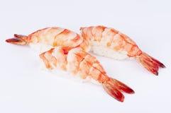 虾寿司 免版税库存照片