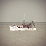 虾小船 库存图片