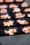 虾开胃菜 免版税图库摄影