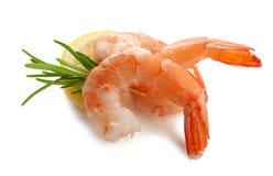 虾的尾巴 免版税库存照片