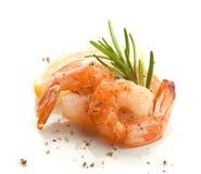 虾的尾巴 免版税库存图片