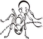蚂蚁例证 免版税库存照片
