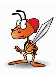 蚂蚁战士 免版税库存照片