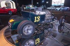 蚂蚱旧车改装的高速马力汽车 免版税库存照片