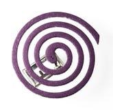 蚊子放水剂卷与淡紫色芬芳的 库存图片