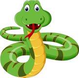 蛇动画片 向量例证