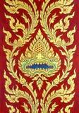 蛇图象艺术性从泰国绘画&文学后面的 库存照片
