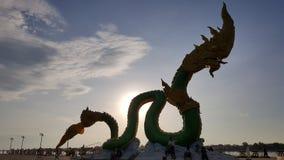 蛇在Nongkhai,泰国 图库摄影
