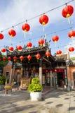 蛇寺庙槟榔岛马来西亚 免版税库存图片