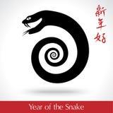 蛇的年2013年 免版税图库摄影