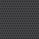 蛇皮纹理 在白色背景的无缝的样式黑色 向量 库存例证