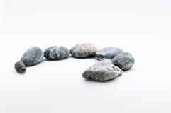 蛇石头 免版税库存图片