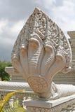 蛇神纳卡语雕象  免版税库存图片