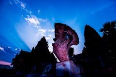 蛇艺术  免版税图库摄影