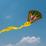 蛇风筝 免版税库存图片
