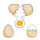 蛋例证的汇集 免版税库存照片