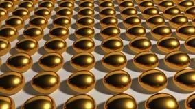 蛋充分的金子 免版税图库摄影