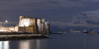 蛋城堡的看法 免版税库存图片