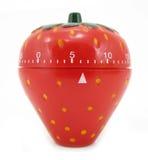 蛋定时器厨房草莓 免版税图库摄影