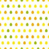 蛋无缝的样式 图库摄影
