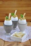 蛋早餐是开胃菜 库存照片