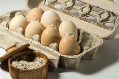 蛋早餐 免版税库存照片