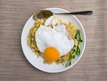 蛋炒饭 库存图片