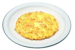 蛋煎蛋卷 库存照片