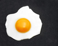 蛋煎锅 免版税图库摄影