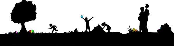 蛋狩猎 免版税图库摄影