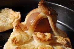 蛋甜点 图库摄影
