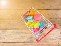 蛋白杏仁饼干 免版税图库摄影