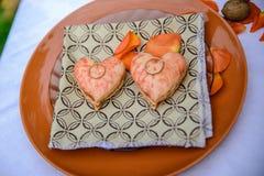 蛋白杏仁饼干食物,肉,膳食, 免版税库存照片