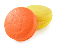 蛋白杏仁饼干 库存图片