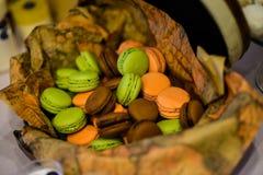 蛋白杏仁饼干 图库摄影