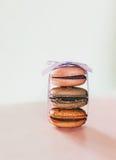 蛋白杏仁饼干 库存照片