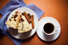 蛋白牛奶酥用桂香 库存图片