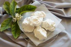 蛋白甜饼 免版税库存图片